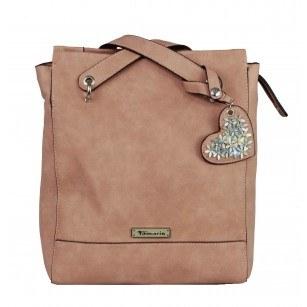 Дамска стилна раница/чанта Tamaris розова