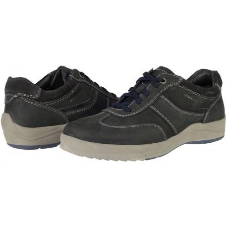 Мъжки спортнo-елегантни обувки Ara  естествена кожа сиви