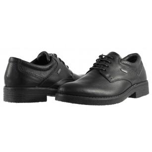 Мъжки кожени обувки Ara непромокаеми GORE-TEX® черни