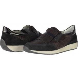 Дамски спортни обувки Ara естествена кожа черни