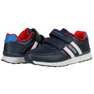 Детски маратонки за момче Bulldozer сини