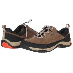 Мъжки обувки с връзки естествена кожа Baystone Run GORE-TEX® кафяви