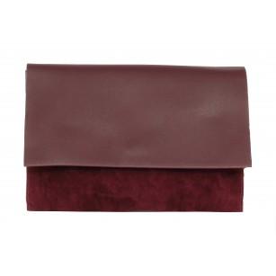 Дамска малка чанта Clarks  Burgundy Moroccan Jewel