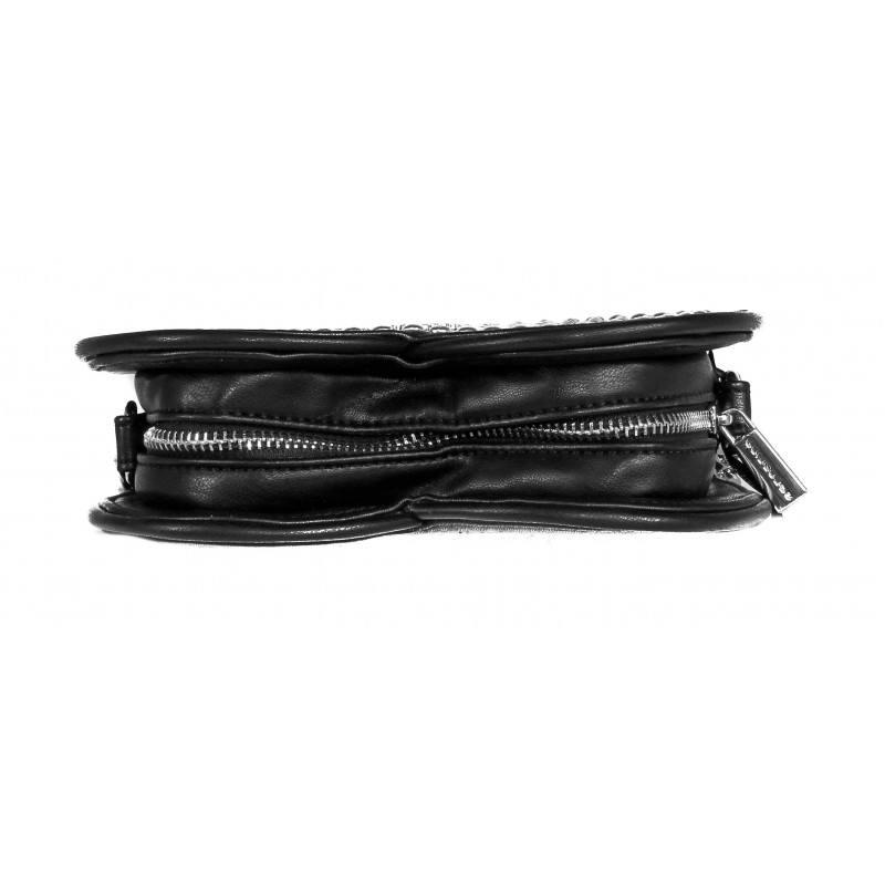 Дамска чанта Fornarina черна Heart