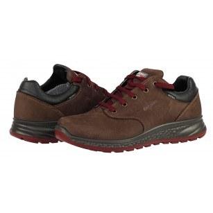 Мъжки ежедневни обувки Grisport АCTIVE кафяви естествена кожа GriTex®