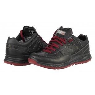 Мъжки ежедневни обувки Grisport  АCTIVE черни естествена кожа  GriTex®