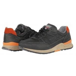 Мъжки спортно-елегантни обувки от естествена кожа Grisport Elite черни