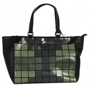 Дамска голяма чанта Marina Galanti зелена