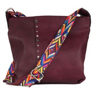 Дамска средна чанта Marina Galanti® бордо