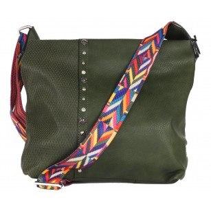 Дамска средна чанта Marina Galanti® зелена