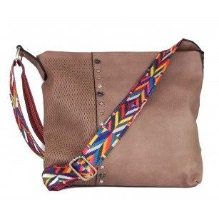 Дамска средна чанта Marina Galanti® розова
