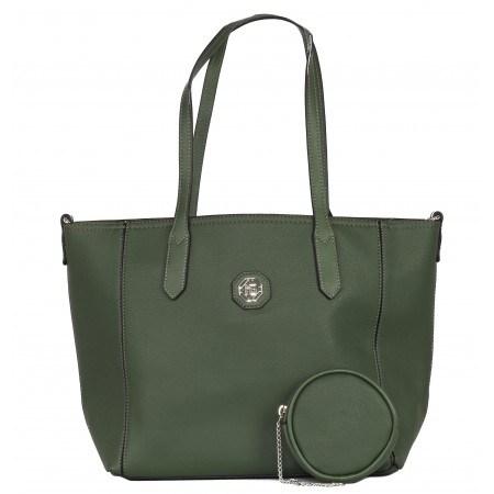 Дамска голяма чанта Marina Galanti green