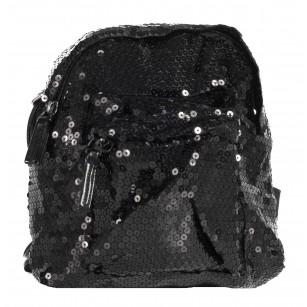 Дамска малка раница Marina Galanti® черна