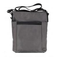 Малка мъжка чанта през рамо MG сива