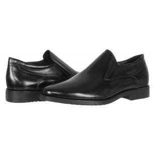Елегантни кожени обувки  Salamander черни