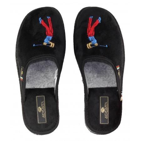 Юношески домашни чехли Spesita  черни