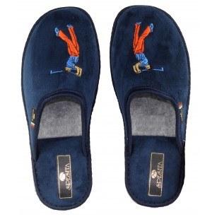 Юношески домашни чехли Spesita  сини