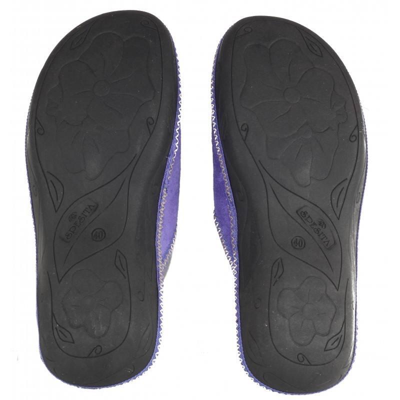 Дамски домашни чехли Spesita лилави