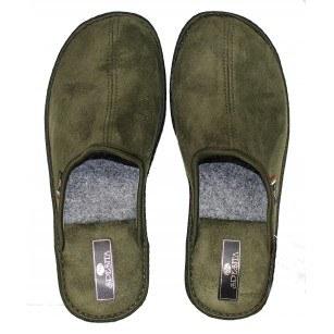 Мъжки домашни чехли Spesita зелени TAD