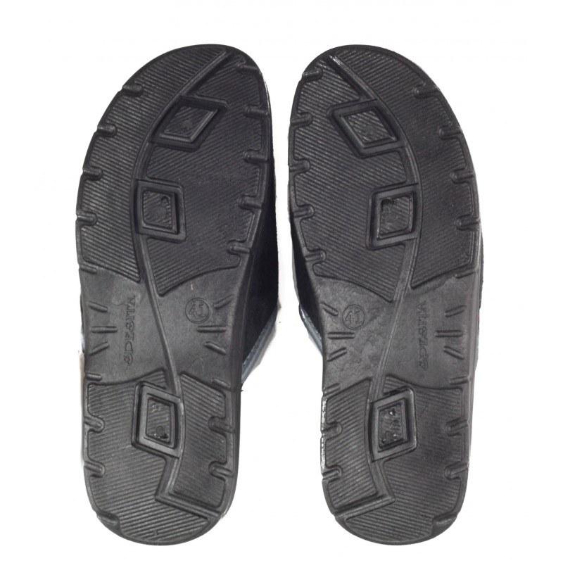 Мъжки домашни чехли Spesita черни