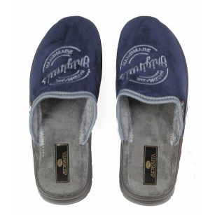 Мъжки анатомични домашни чехли Spesita сини