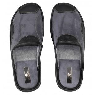 Мъжки домашни чехли Spesita сиви MAURIZIO