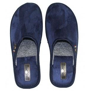 Мъжки домашни чехли Spesita  сини