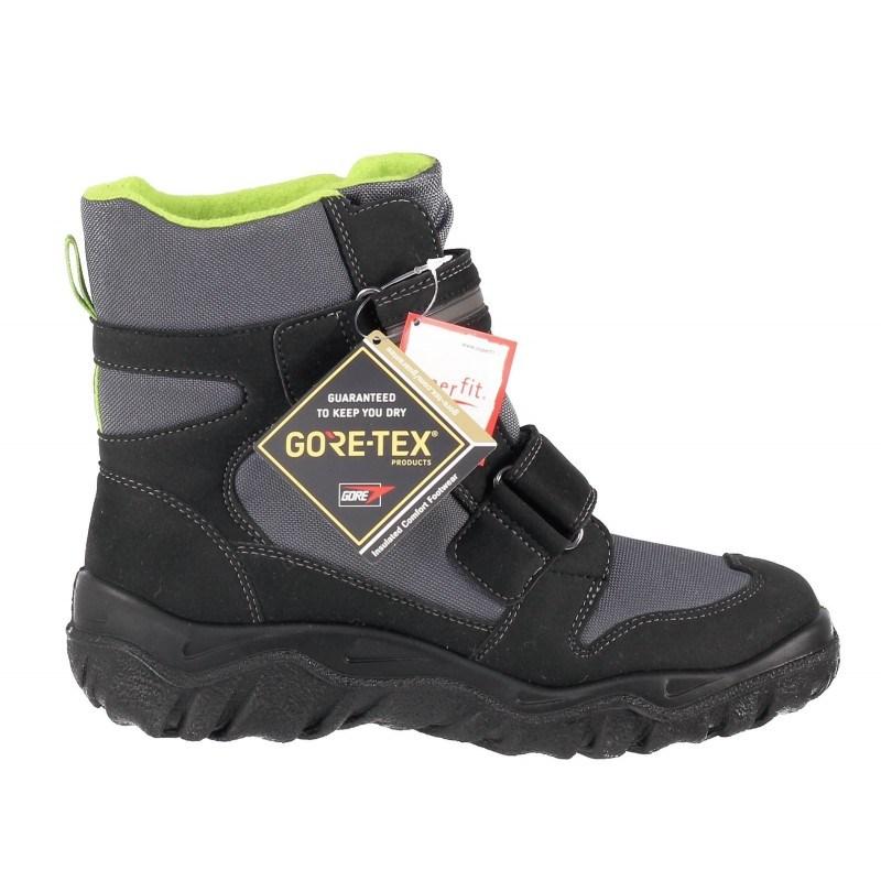 Апрески Superfit черни/зелени GORE-TEX® непромокаеми 36-42