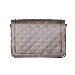 Дамска стилна малка чанта Tamaris сребриста