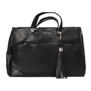 Дамска голяма чанта Tamaris черна