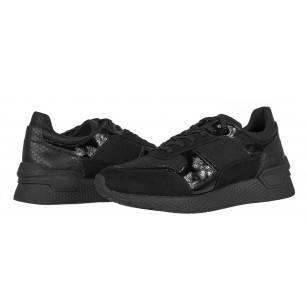 Дамски спортни обувки Tamaris черни Fashletics мемори пяна