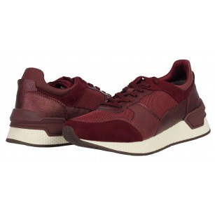 Дамски спортни обувки Tamaris  Fashletics мемори пяна бордо