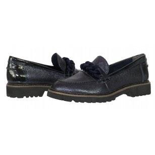 Дамски ежедневни обувки Tamaris мемори пяна син лак