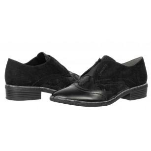 Дамски ежедневни обувки без връзки Tamaris черни