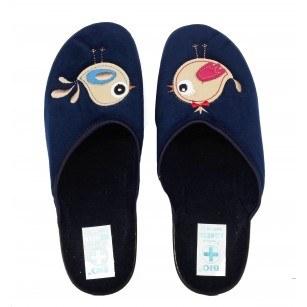 Дамски домашни чехли Adanex сини BIO