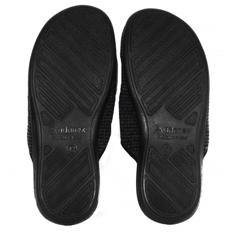 Мъжки домашни чехли Adanex BIO черни