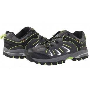 Мъжки/юношески  спортни обувки Bulldozer сиво/зелени