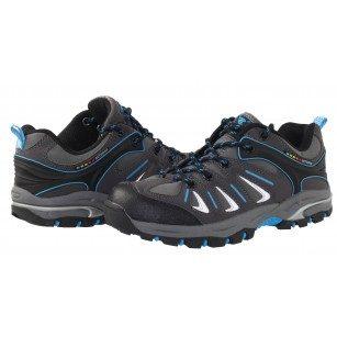 Мъжки/юношески  спортни обувки Bulldozer сиво/сини