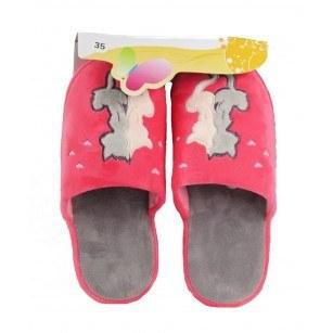 Детски  домашни чехли Bulldozer розови
