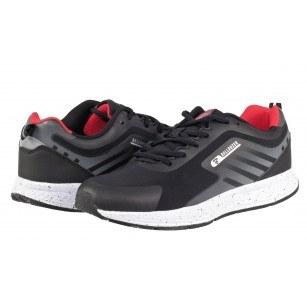 Мъжки маратонки Bulldozer черно/червено