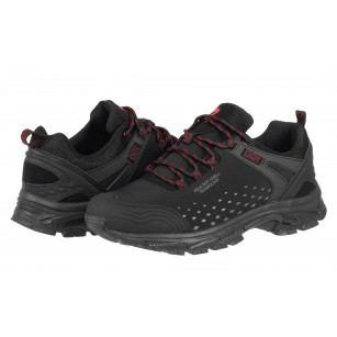 Мъжки спортни обувки Bulldozer черни/червени