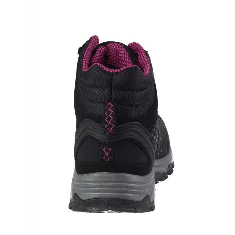 Дамски спортни боти с връзки Bulldozer черни/розови