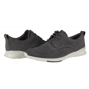 Мъжки спортни обувки Clarks Tynamo Walk сиви естествен велур
