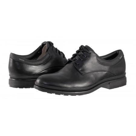 Мъжки обувки от естествена кожа Clarks Londonmap GORE-TEX® НЕПРОМОКАЕМИ