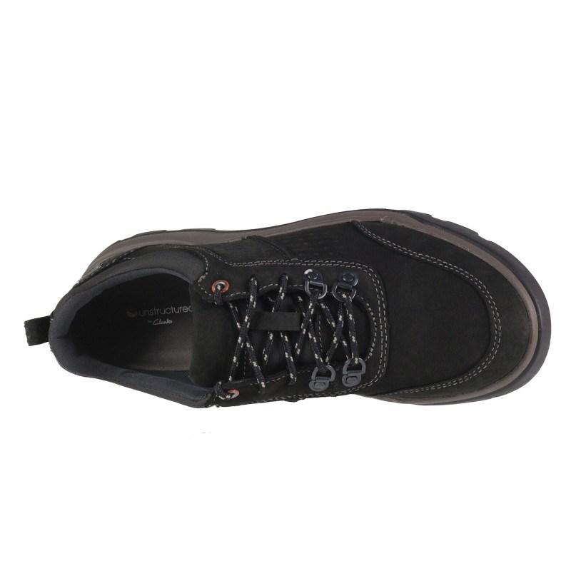 Мъжки обувки Clarks Un Atlas Lo GORE-TEX® черни НЕПРОМОКАЕМИ