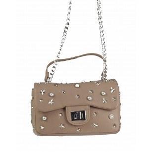 Дамска клъч чанта Marina Galanti® бежова