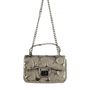 Дамска клъч чанта Marina Galanti® сребриста