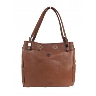 Дамска чанта Marina Galanti® Firenze светло кафява