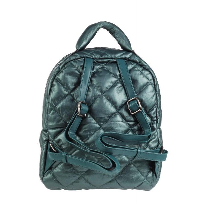 Дамска раница Marina Galanti® Firenze синьо/зелена