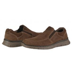 Мъжки обувки от естествена кожа Rieker мемори пяна 4869-25